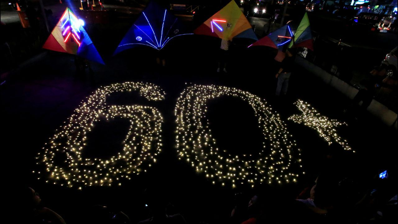 Celebración de la Hora del Planeta en Cavite (Filipinas)