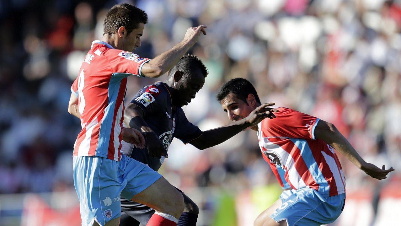 Anquela Requexon Real Oviedo.Colas en el Modoo