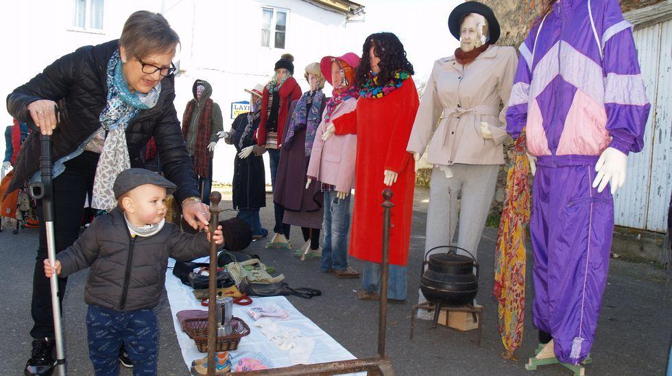 Así se celebrou o Xoves de Comadres na comarca de Lemos.El actor y creador de la ficción Berto Romero durante la presentación de la serie  Mira lo que has hecho