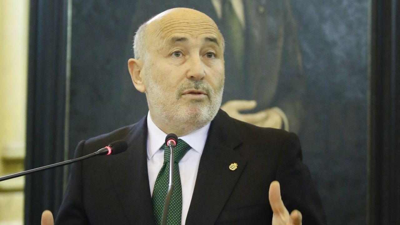.Javier Losada, en una foto del 2016