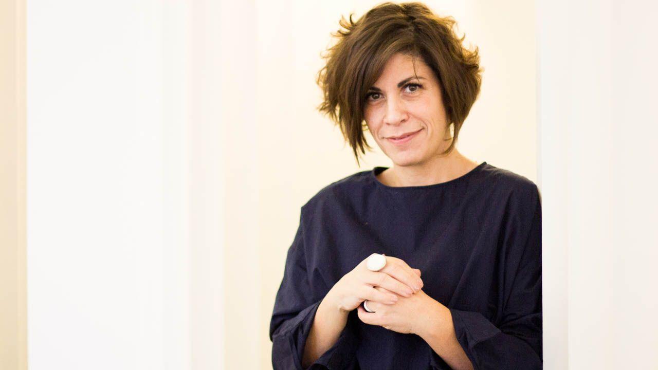 Julie Fernández, diputada belga de origen asturiano.