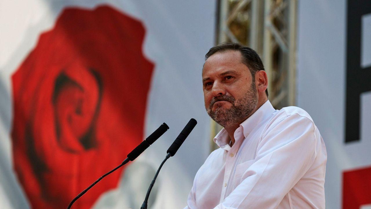 José Luis Ábalos, ministro de Fomento y secretario de organización del PSOE