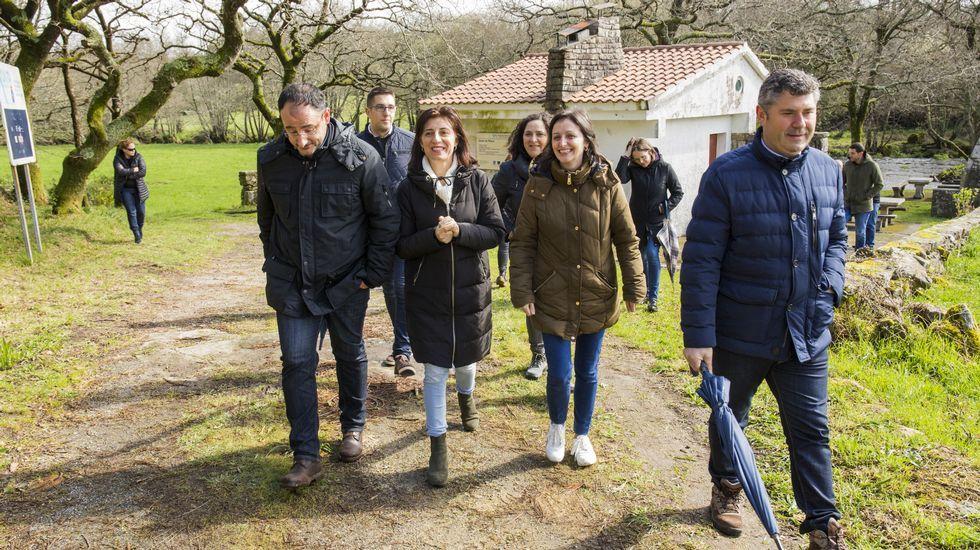 Visita de la conselleira Ángeles Vázquez