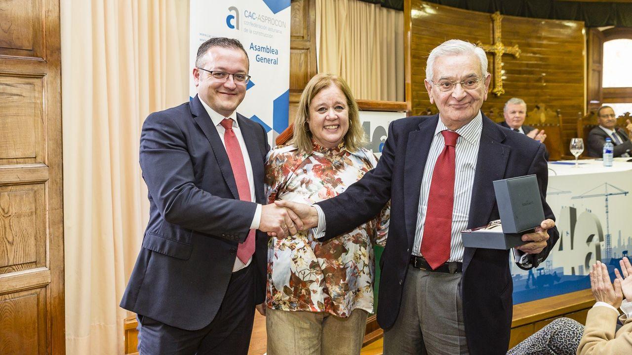 Homenaje a Serafín Abilio en el 40 aniversario de CAC-Asprocon