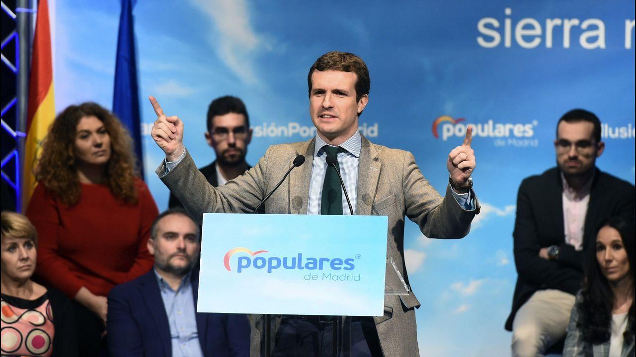 Casado promete una gran rebaja fiscal.Aída Nuño celebra su victoria en el Campeonato de España de Ciclocross