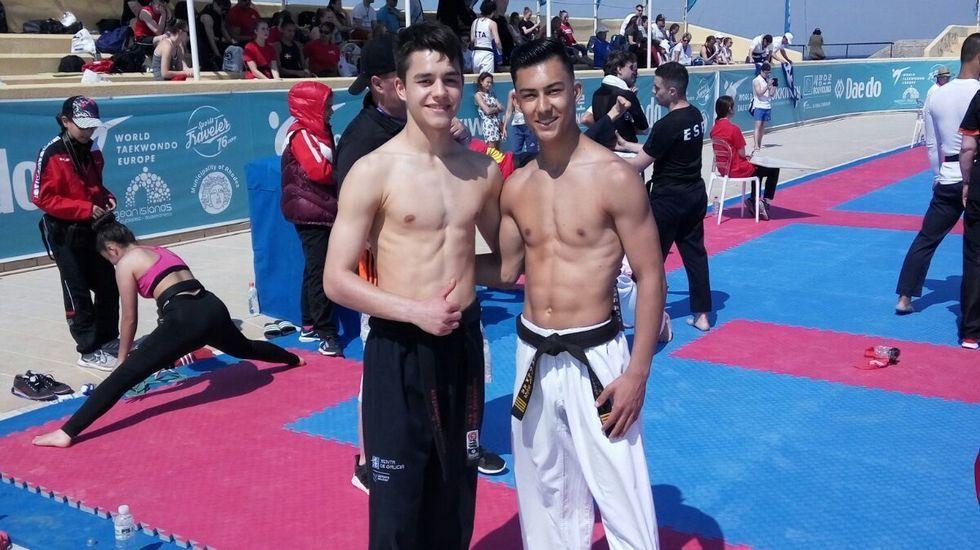 ¡Los combates del Campeonato Internacional Cidade de Ribeira en imágenes!