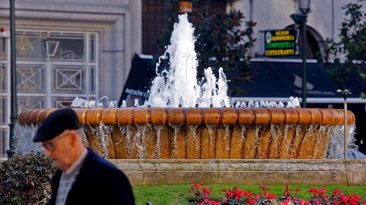 Galicia y Asturias reivindican la «conciencia del noroeste».Fuente de la Alameda viguesa