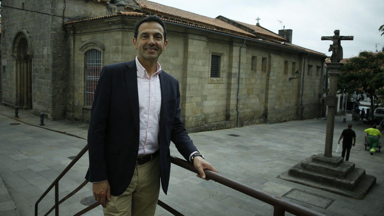 Feijoo repite como delegado regio en la ofrenda al Apóstol