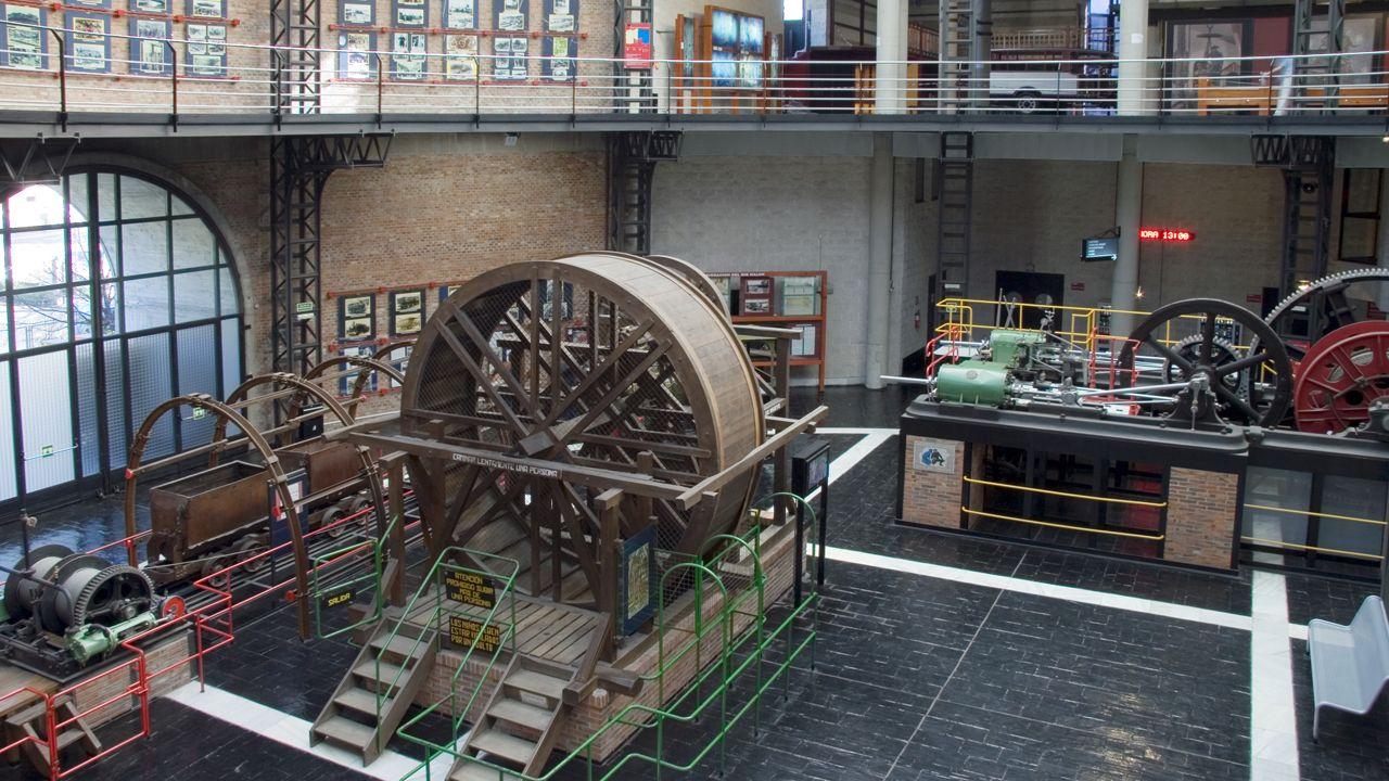 Interior del Museo de la Minería de Asturias
