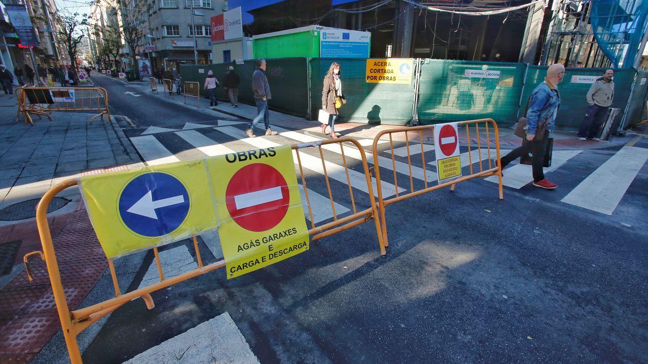 Arranca la reforma urbana en el entorno de las calles Benito Corbal, Sagasta y Cobian Areal