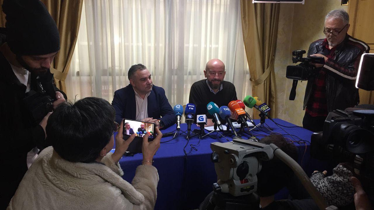 El exlíder de Ciudadanos en Ourense ve la mano de Baltar en el fichaje de Araújo y este lo niega