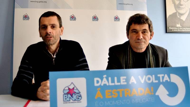 Antonio González, a la derecha de la foto, lleva 29 años en la plantilla de la Cámara.