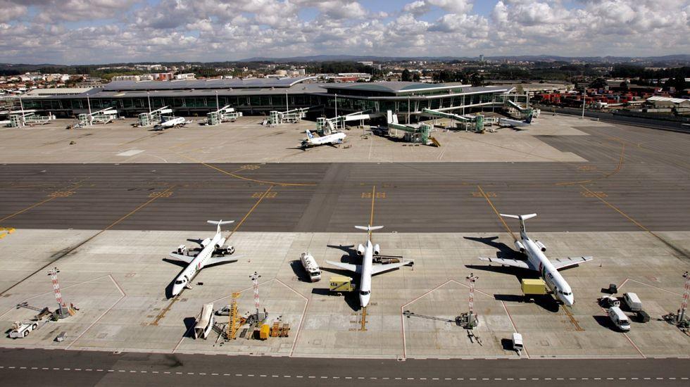.Imagen de archivo del aeropuerto de Oporto.
