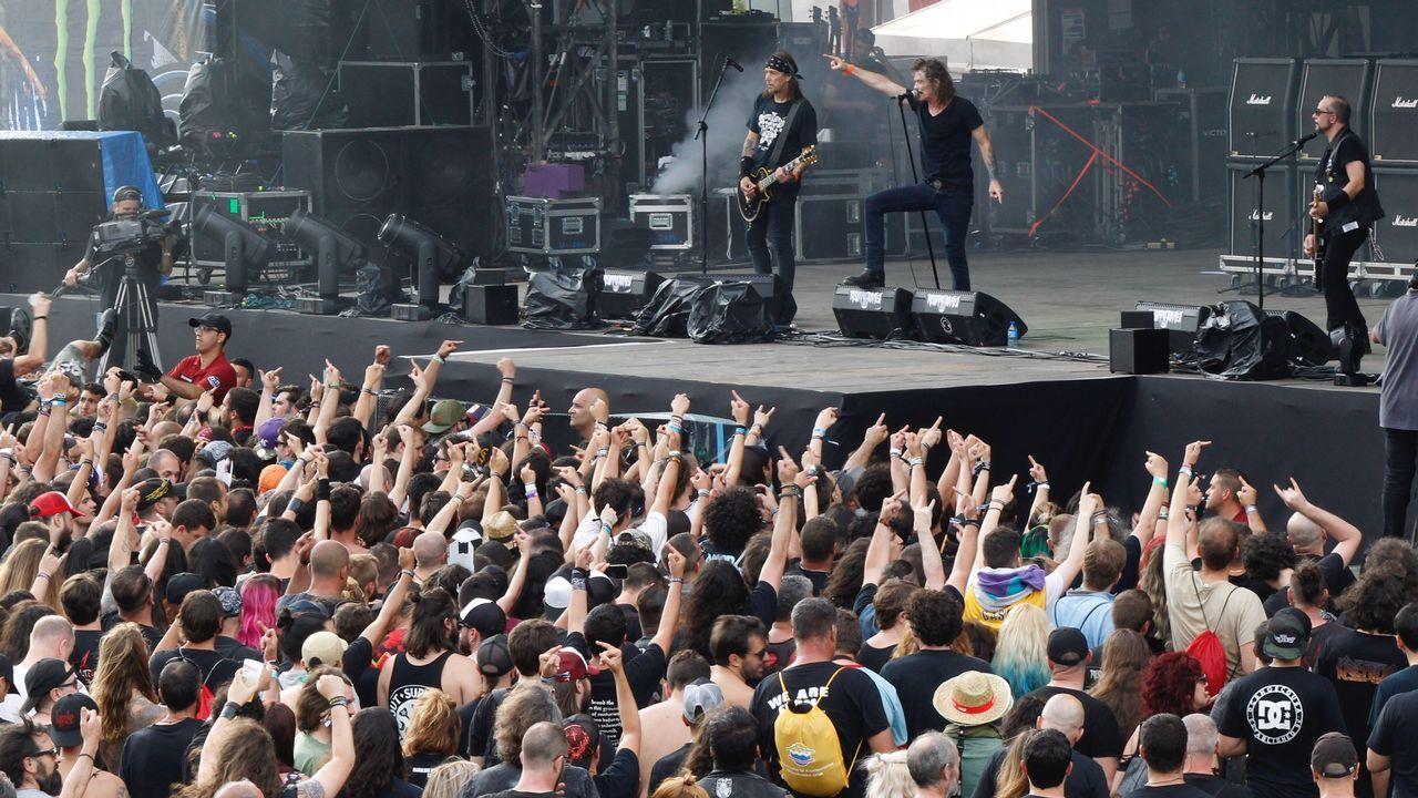 Todas las imágenes del Resurrection Fest.Kiss en concierto cerca de Lisboa, el 10 de julio