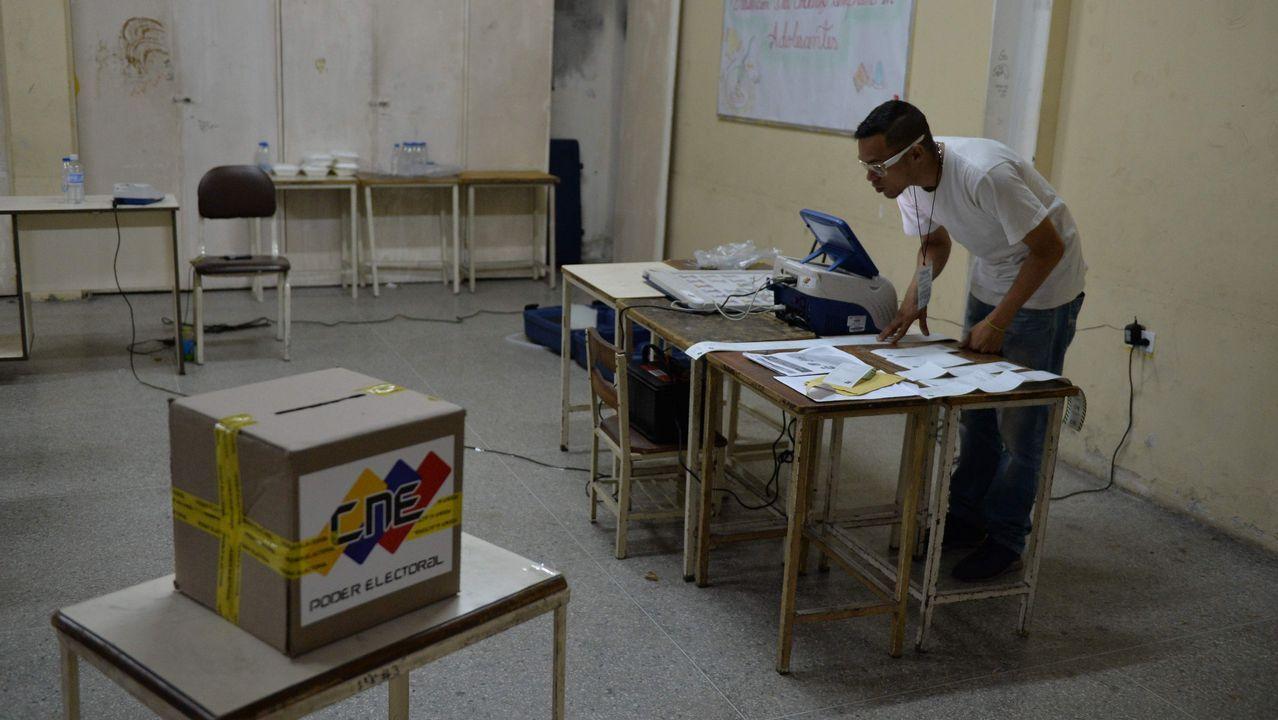El candidato del partido uribista, Iván Duque, vencedor de la primera vuelta de las elecciones en Colombia