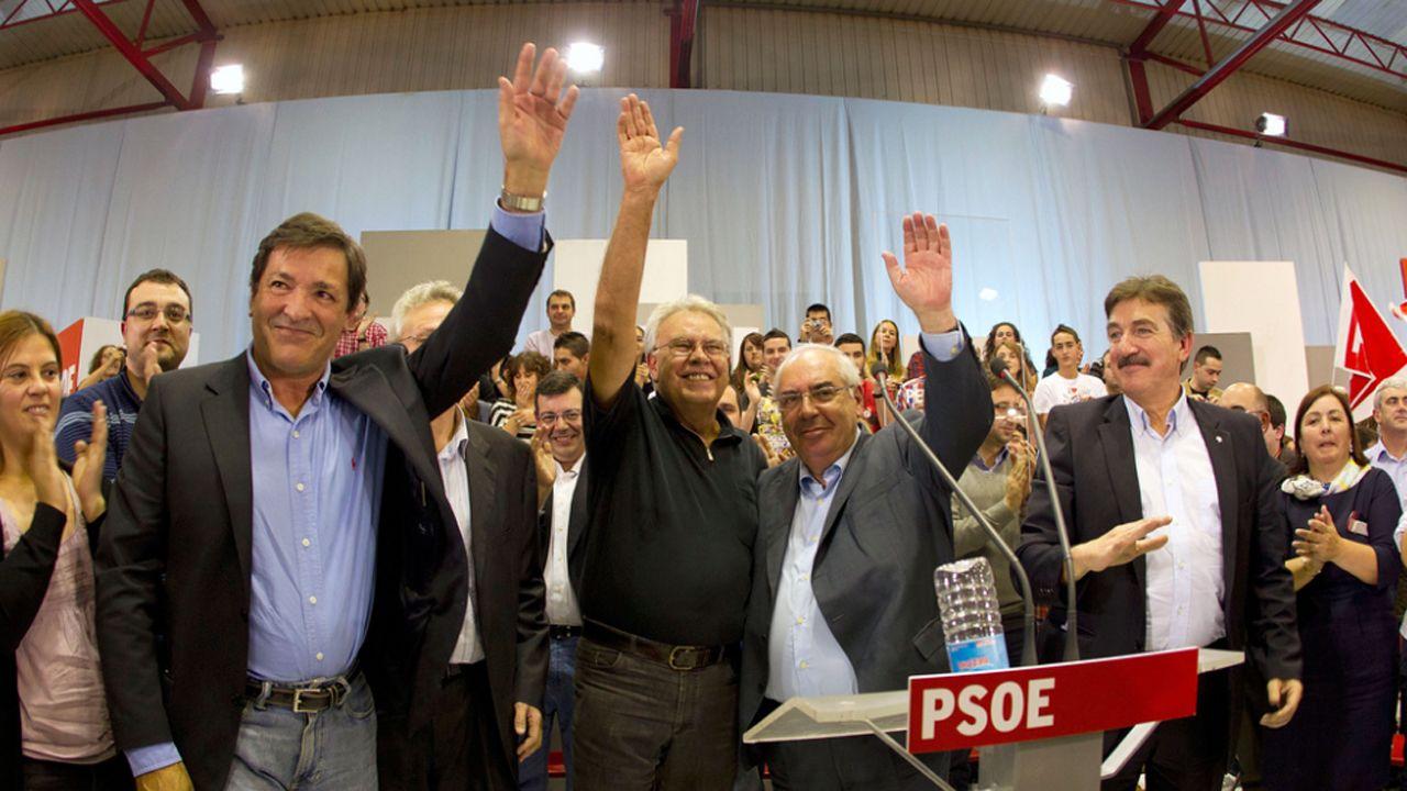 Javier Fernández, Felipe Gonzáles y Álvarez Areces