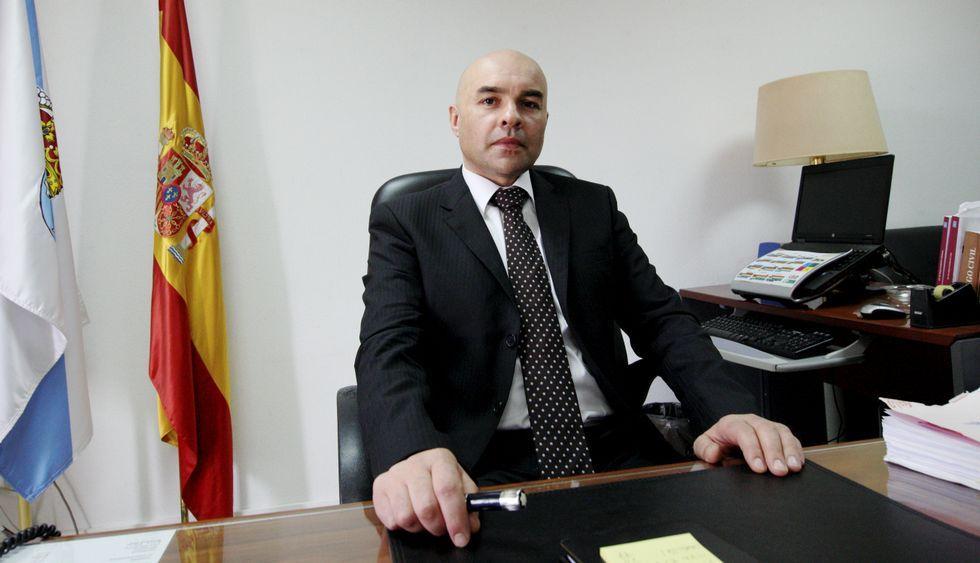 Roberto Barba se incorporó al juzgado de Betanzos a finales del 2014.