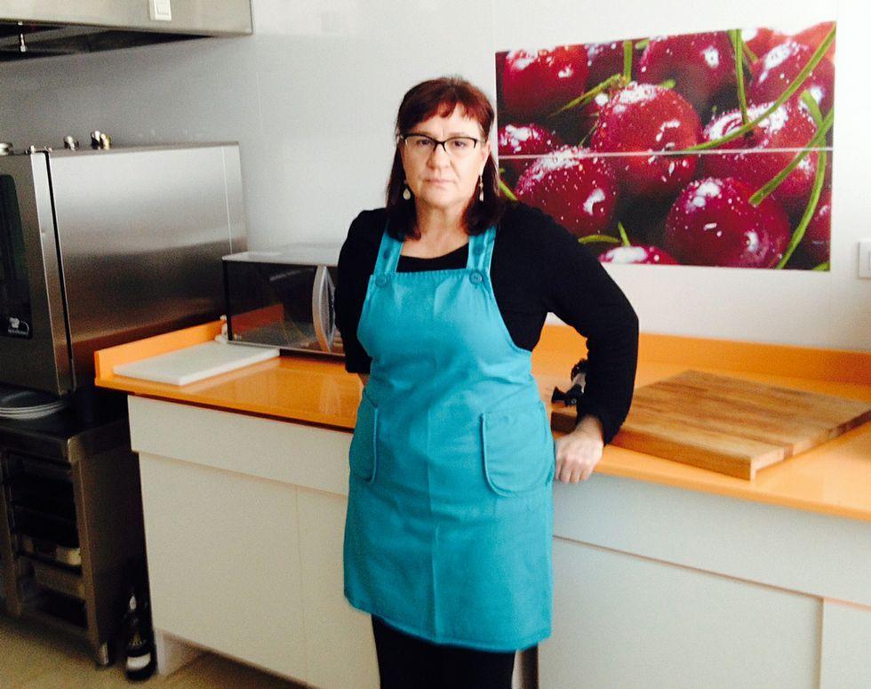 Sofía Calvo es la que se encarga de la cocina.