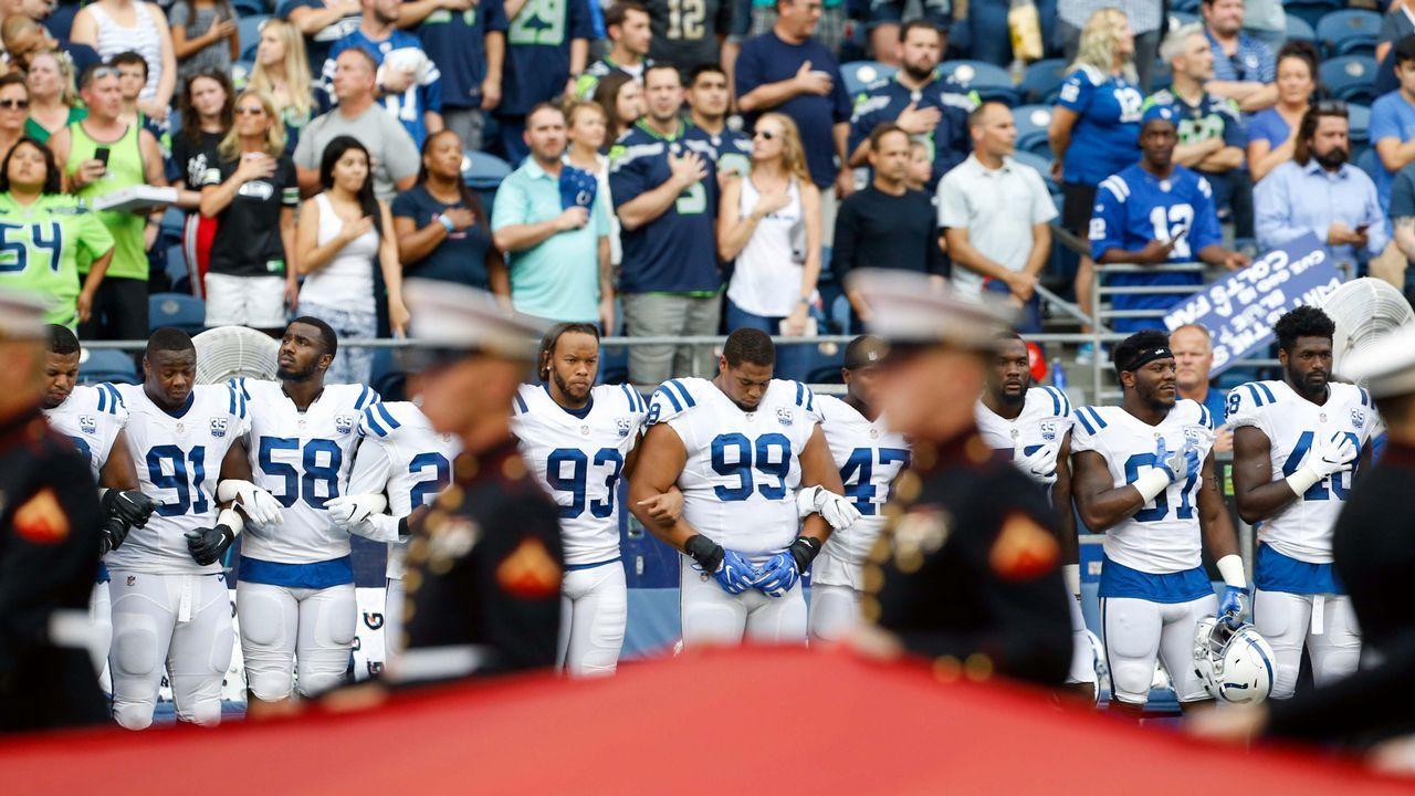 La protesta contra el racismo de los jugadores de los Dolphins de la NFL enfadó al presidente
