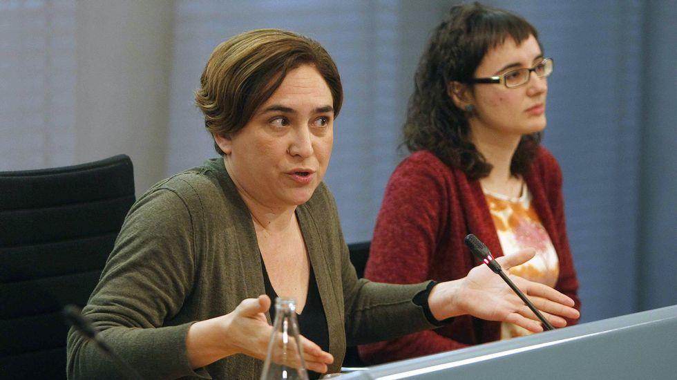 .La alcaldesa Ada Colau