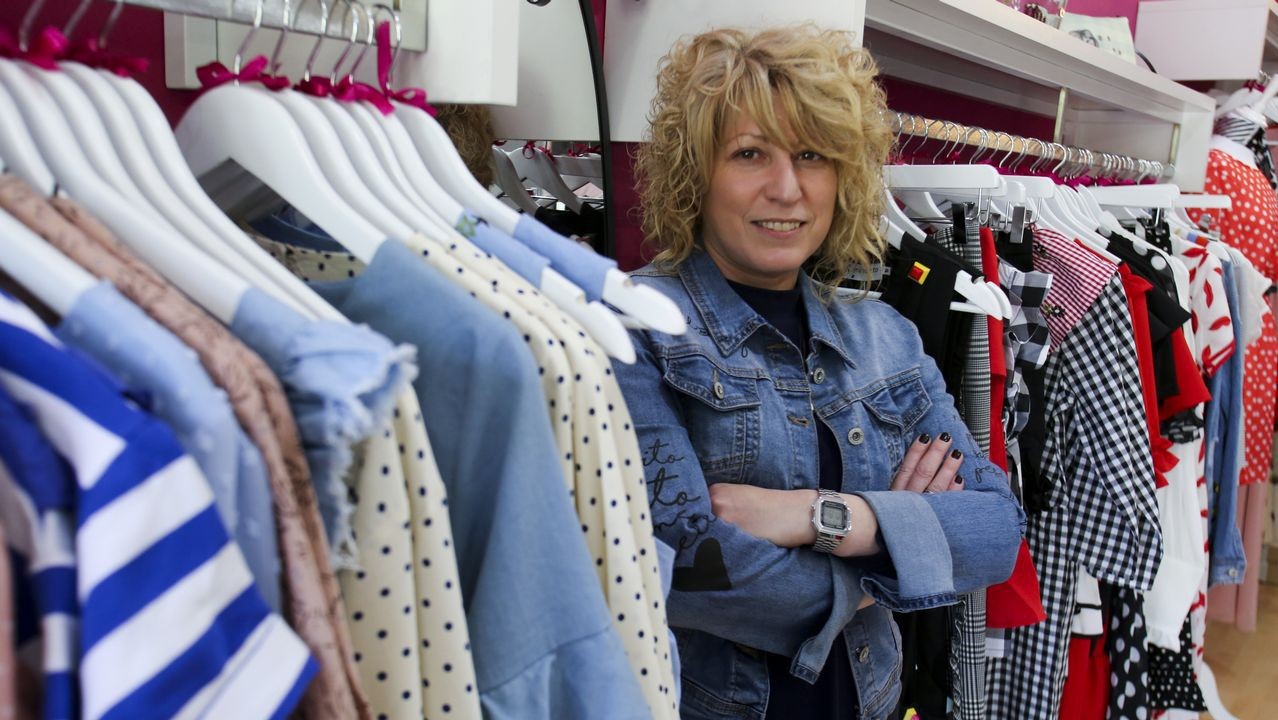 .Ana Belén Porta comanda La Lola, una nueva tienda de moda ubicada en la calle de la Iglesia, frente al Cantón
