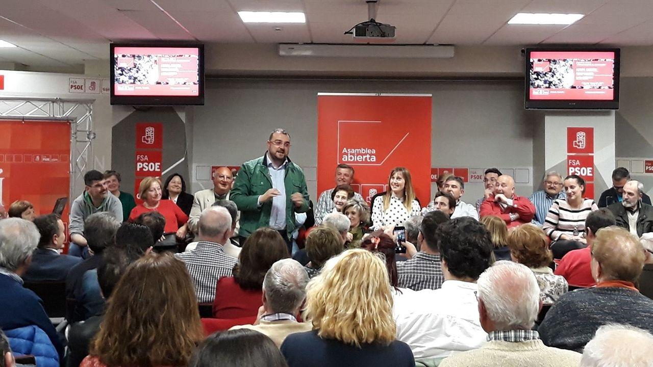Asamblea de FSA-PSOE en Gijón
