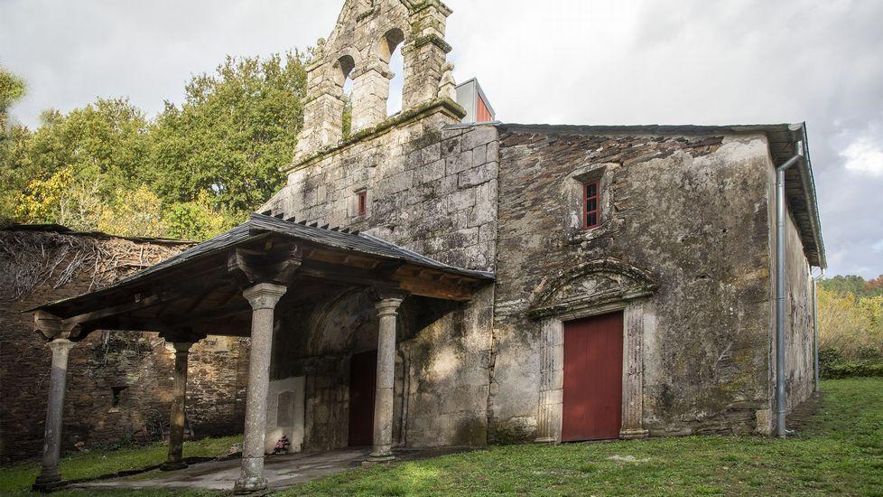 Antigua iglesia de San Mamede, de origen románico