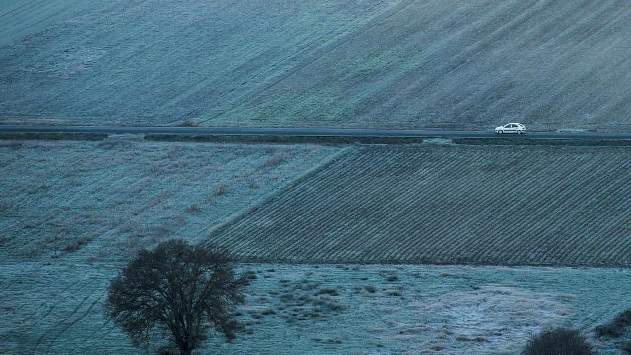 La localidad orensana de Xinzo de Limia lleva registrando los pasados días temperaturas de -5 ºC