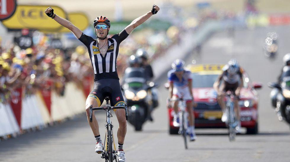 Quinta etapa del Tour: Cummings gana en Mende.