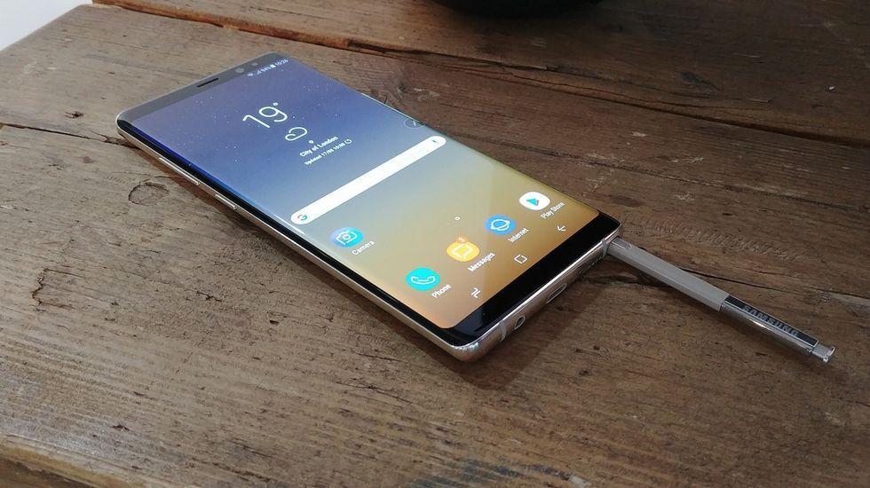 Note 8, el móvil que funciona bajo el agua