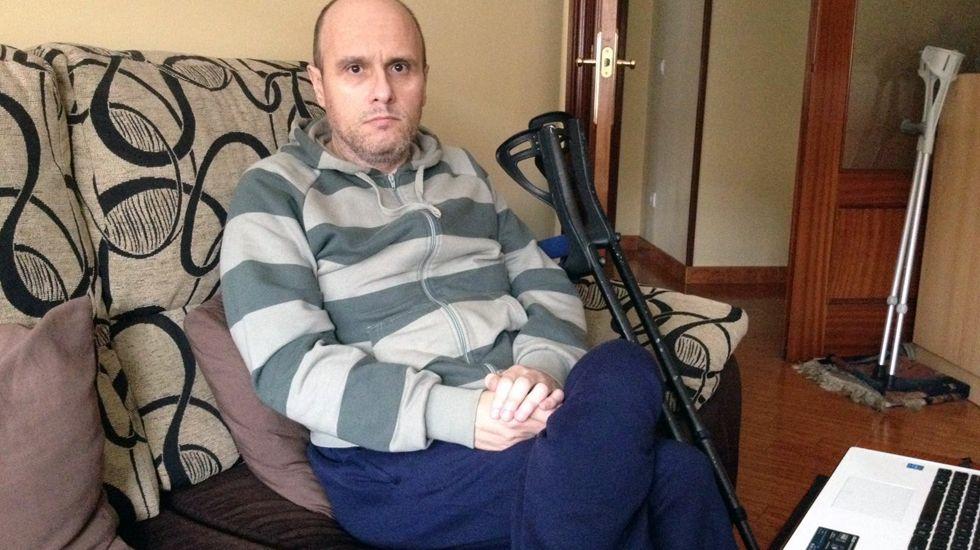 El langreano José Antonio Cuesta sufre Síndrome de Pospolio.El langreano José Antonio Cuesta sufre Síndrome de Pospolio