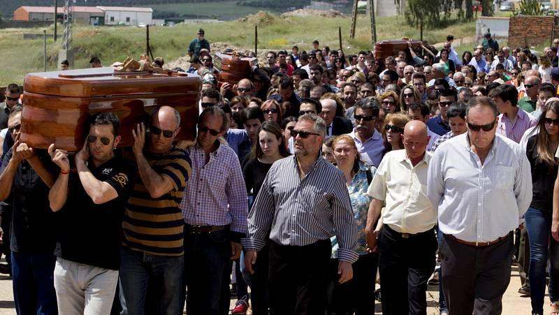 Funerales en Monterrubio de la Serena.