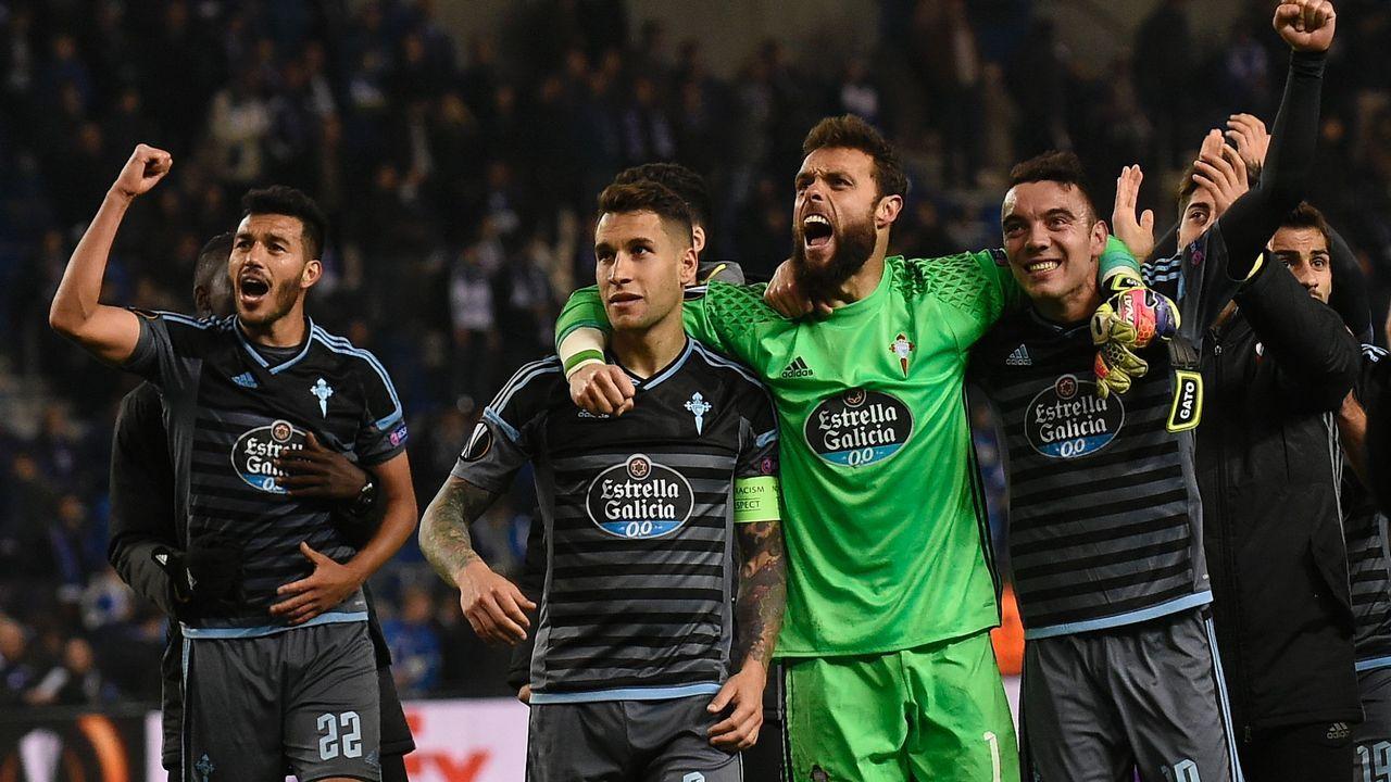 .Clasificación para las semifinales de Europa League