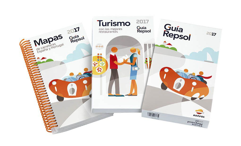 La Guía Repsol de la edición 2017.La Guía Repsol de la edición 2017