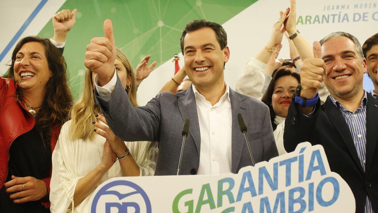 Juan Manuel Moreno Bonilla, lider del PP-A