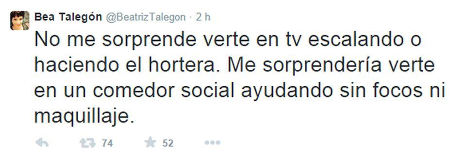 Así fue el enfrentamiento entre Beatriz Talegón y Alfonso Rojo