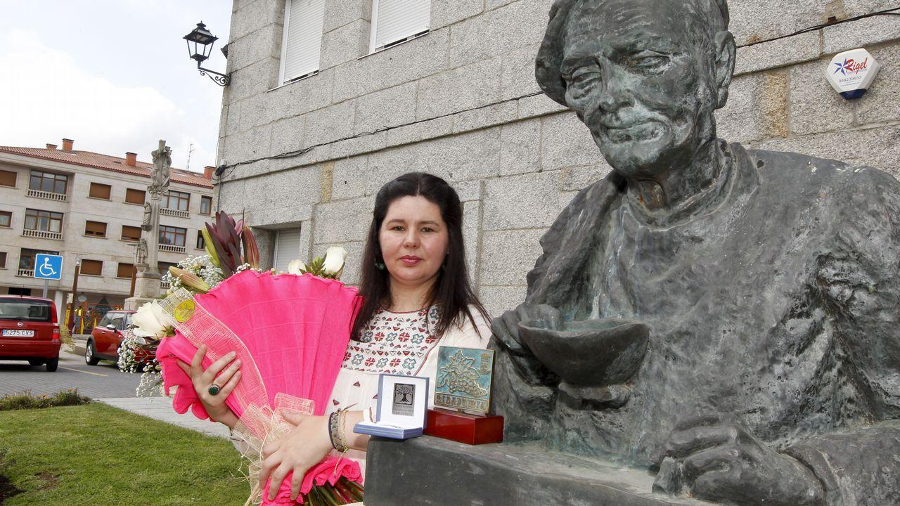 El concello de Ribadumia homenajea a Elida Abal.