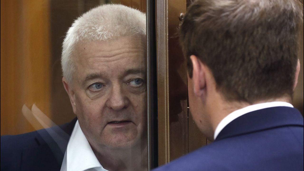 El noruego Frode Berg, poco antes de recibir su sentencia en Tribunal Municipal de Moscú