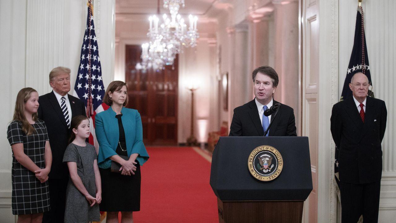 Kavanaugh toma posesión como juez del Supremo y Trump se disculpa «en nombre de EE.UU.».Captura de la señal de la Audiencia Provincial de Madrid en la que se ve al doctor Vela