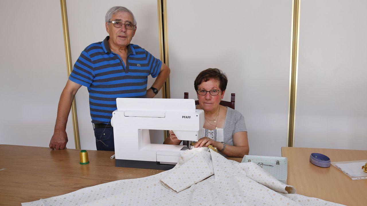 La costurera de dos papas de Roma es de A Lama.Los primeros toques de la obra de Anna Taratiel en Ciudad Naranco