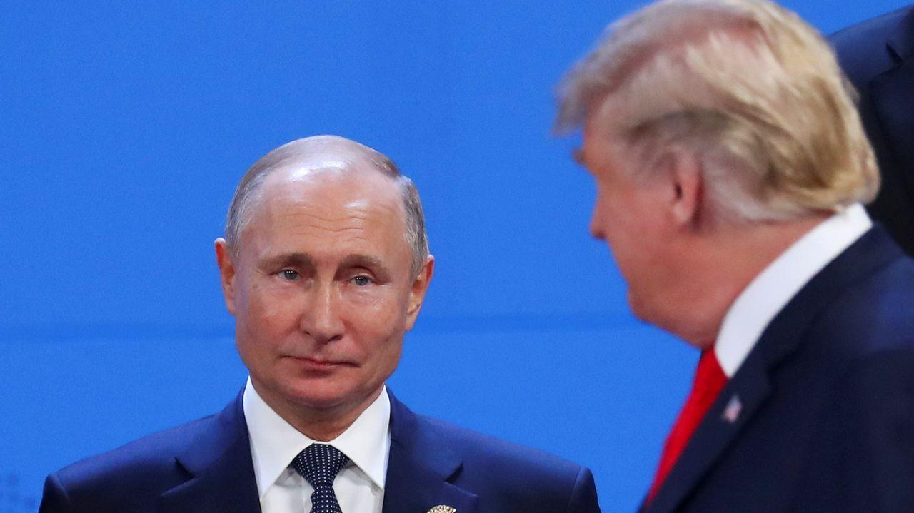 Putin y Trump, en Buenos Aires, durante el G20
