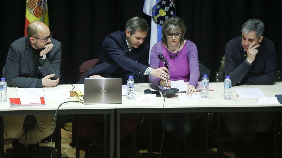 Aguado asegura que Cs no pactará con el PSOE en la Comunidad de Madrid.Ignacio Cuesta, candidato de Ciudadanos a la alcaldía de Oviedo, con el secretario de Organización de Ciudadanos, Fran Hervías