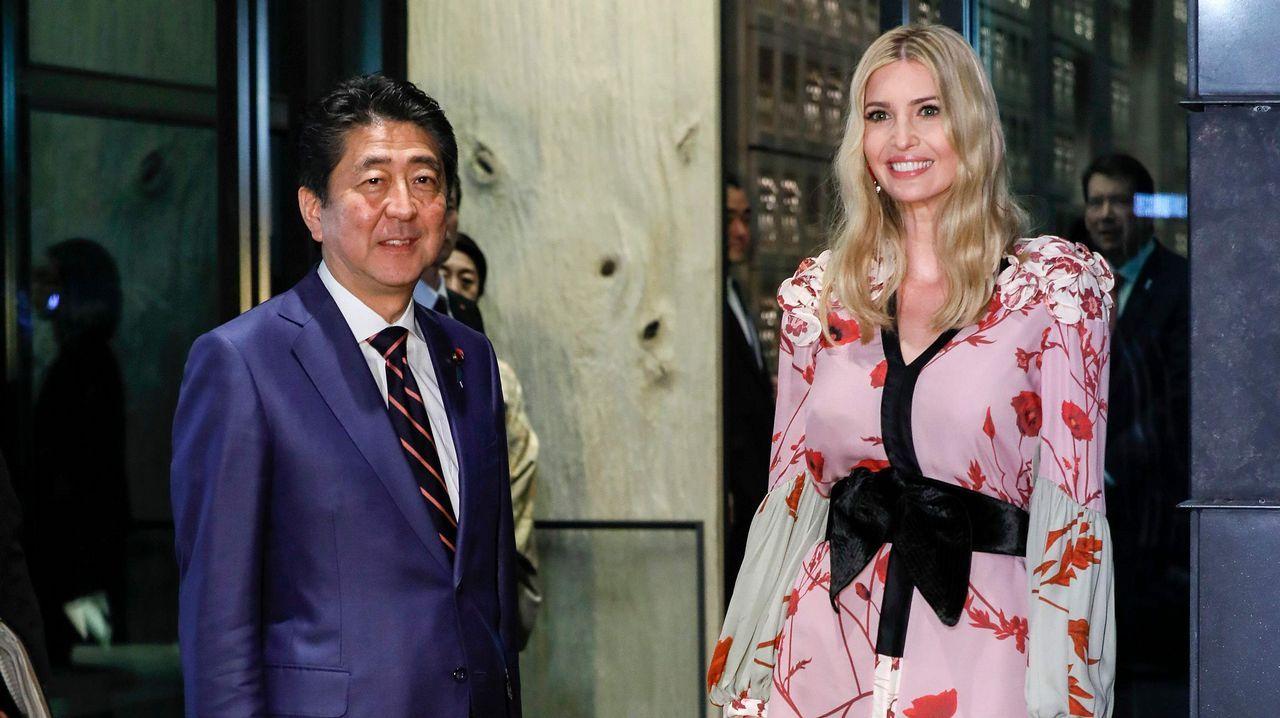 En imágenes: así está siendo el viaje de Donald Trump en Extremo Oriente.Melania y Donald Trump