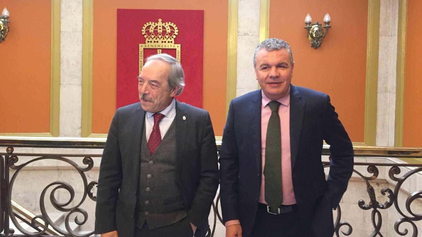 Belarmino Feito y Wenceslao López