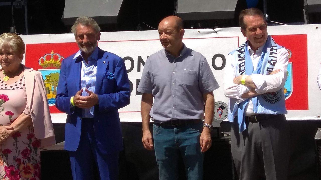 Homenaje a Hugo Mallo en Balaídos con la presencia deManolo