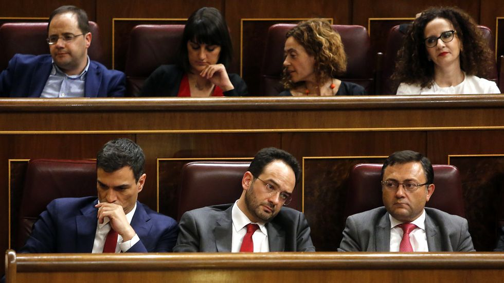 Sánchez fracasa en la primera votación de la investidura