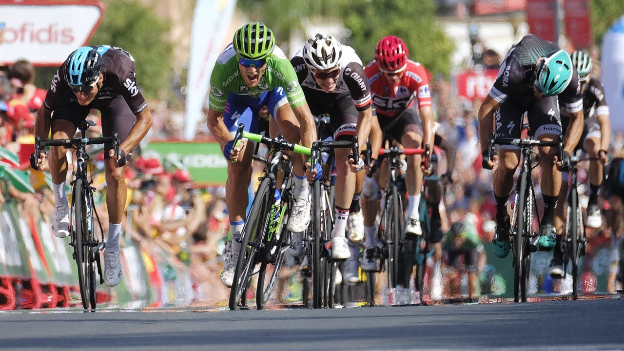 etapa asturias asturiana de La Vuelta.La Vuelta Ciclista España 2018