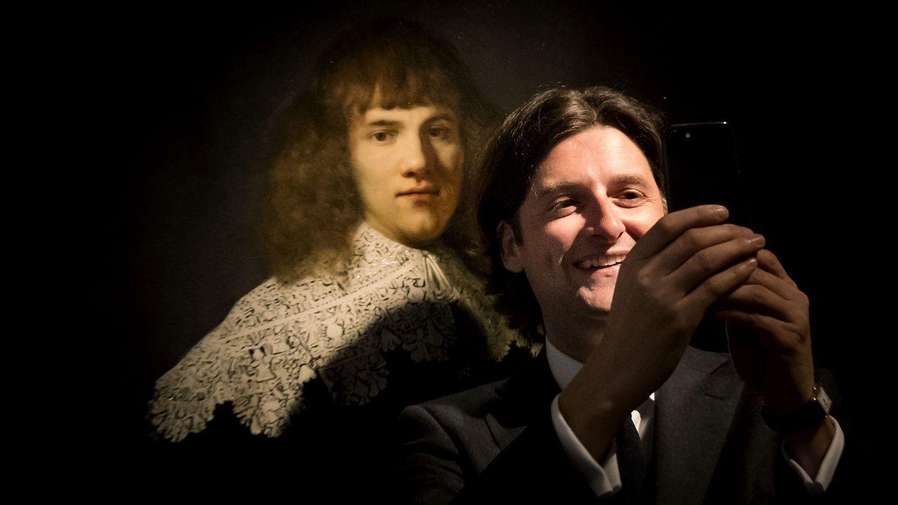 El nuevo retrato de Rembrandt, al detalle.«Kermés popular», de Jacob Savery
