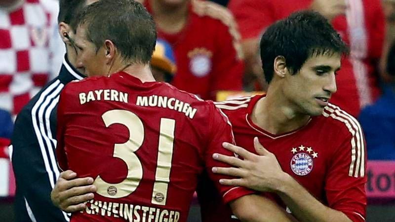 Barcelona.Robben festeja su gol