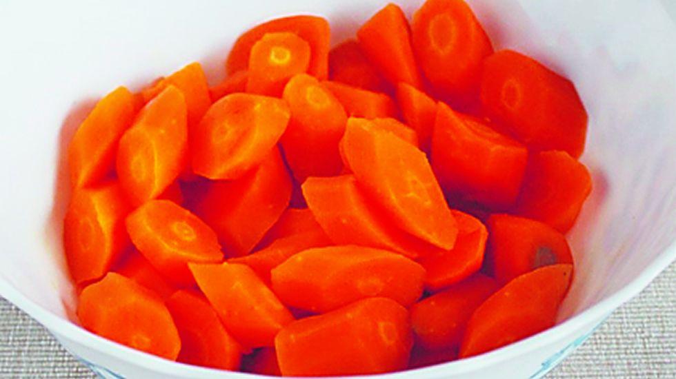 Zanahorias. Todo lo contrario a lo anterior, se pueden consumir hasta 570 gramos